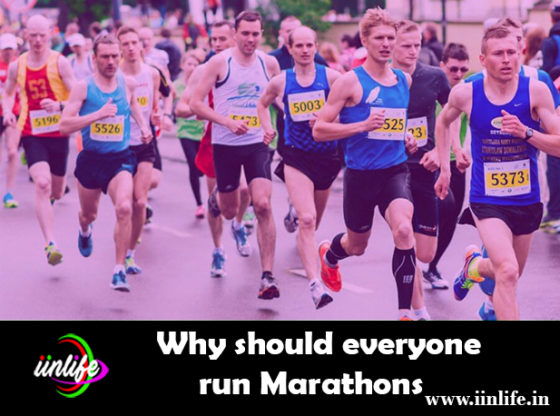 Why should everyone run Marathons