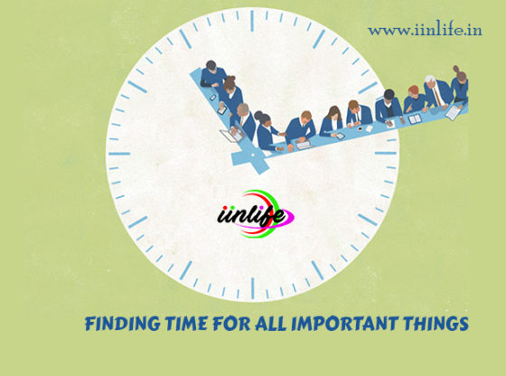 Finding Time for all important things
